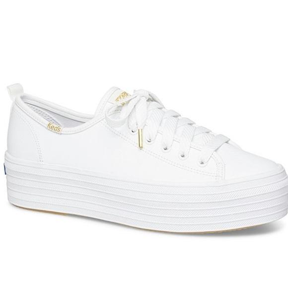 Keds Shoes   Triple Decker Leather